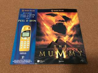 1999 The Mummy Movie - GV Popcorn box