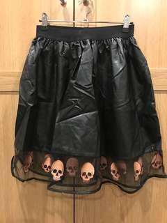 Pulp Kitchen Faux Leather Skirt Size 8 Brand New Without Tags