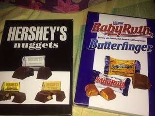 Hershey's Nuggets / BabyRuth / Butterfinger