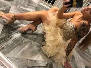 Sherri Hill doll house dress RRP $699 formal cocktail dress