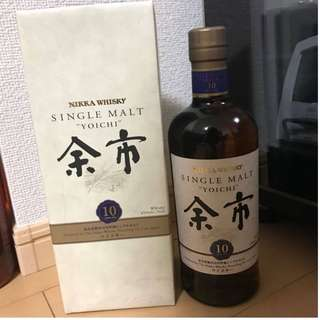 余市10年 有盒 Yoichi 10 Years Old 威士忌