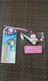 東京塔Hello Kitty手機吊飾