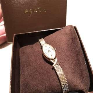 🚚 agete 輕古董手錶 全新