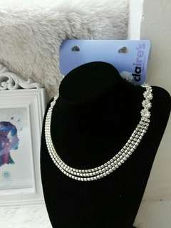 Diamond Inspired Necklace