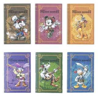 Tokyo Disneysea Disneyland Disney Resorts Sea Land Pirates Summer 2018 Memo Set Preorder