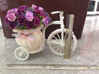 Flower Basket Tricycle for House or Wedding Decoration