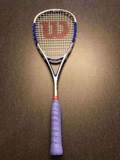 Wilson Squash Hammer Racket - Brand New Double Grip