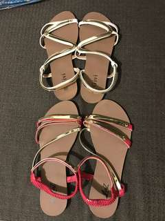 Strappy sandals size : 39