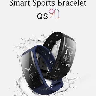 Sports Swimming QS90 Fitness tracker, Heart Rate, Blood Pressure, Blood Oxygen Monitor