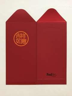 FedEx 吉祥如意 Red Packet Ang Pow Hong Bao