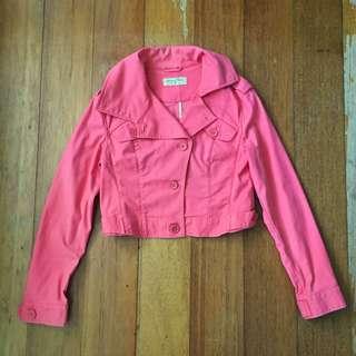 Giordano Ladies Pink Jacket / Blazer