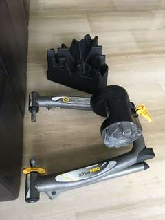 CycleOps Jet Fluid Pro trainer and stand