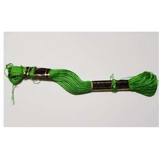 DMC Thread No. 702 - Green (Used)