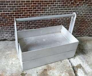 鋁製提梁盒;外送提盒—古物舊貨、早期民藝收藏
