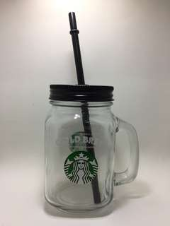 Starbucks Cold Brew Mason Jar