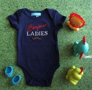 Baby Boy Romper • Bonjour, Ladies!