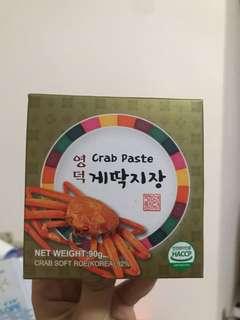 韓國 蟹膏醬