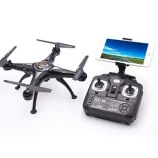 X5SW - 1 RC DRONE RTF WITH 720P HD CAMERA ONE KEY AUTO-RETURN APP CONTROL (BLACK)