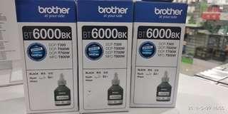BROTHER INK BLACK BT6000BK