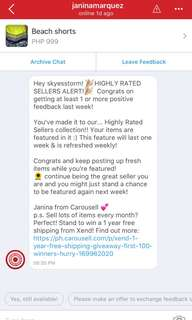 Thank you Carousell ;)