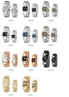 """古馳G-GUCCI系列腕錶✅,Gucci的""""G""""字造型,低調內斂,原裝瑞士eta石英機芯。藍寶石水晶玻璃錶鏡,尺寸大號:32 * 30mm的小號:24 *22毫米,既可以當手錶,又可以當手鍊的款式"""