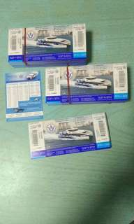 Batam 2 Way Ferry Ticket All Tax Covered