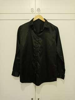 Satin silky like shirt