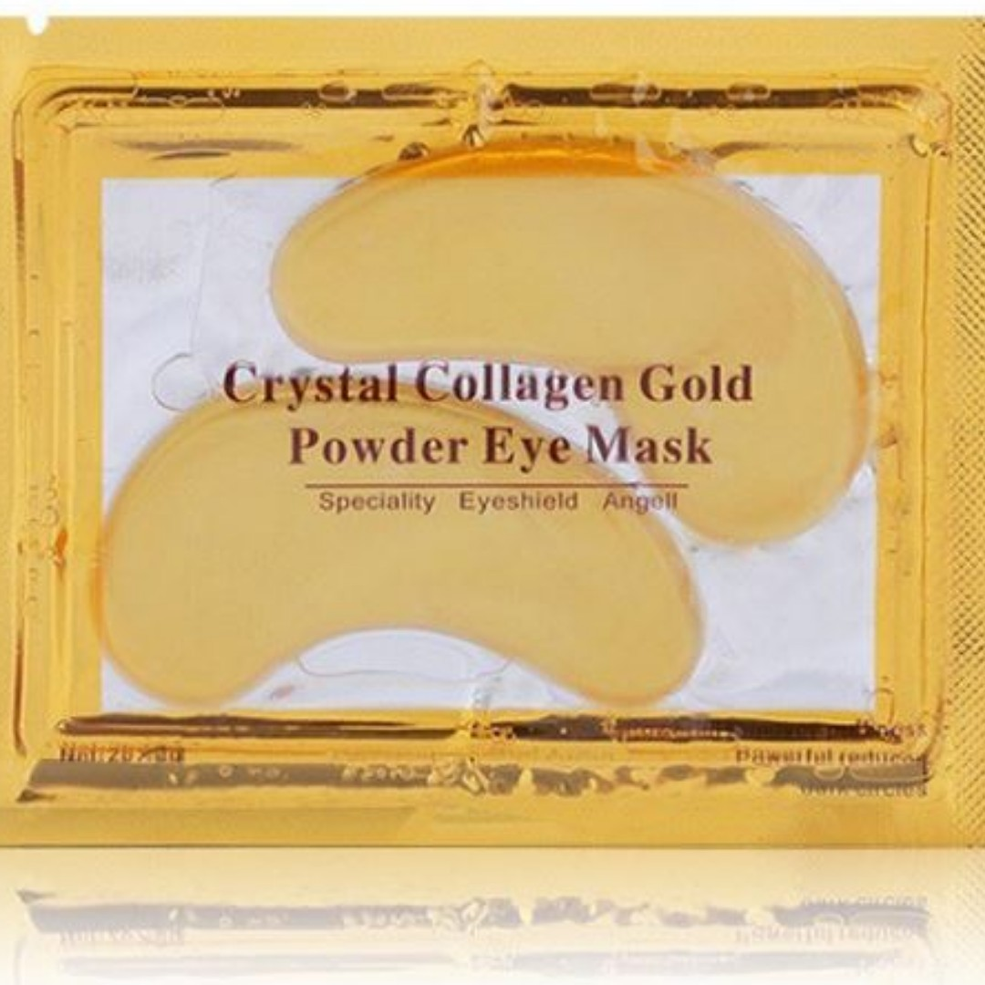 X30 Crystal Collagen Gold Eye Mask Health Beauty Face Skin Powder Aye Care On Carousell