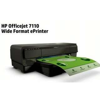 HP OfficeJet 7110 Wide Format ePrinter - H812a (CR768A) [printer]