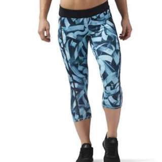 Reebok Crossfit Capri Tights size XS