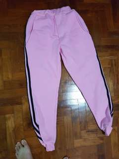 Winter Pink tracksuit pants hypebeast