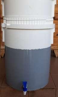2 Tiers HDPE COMPOST BIN 30 kg