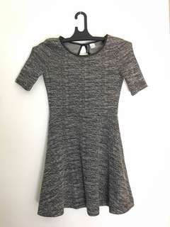 H&M gray dress