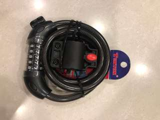 Tonyon bicycle 5 number cable lock