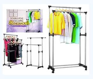 Double Clothes Rack Free Shipping