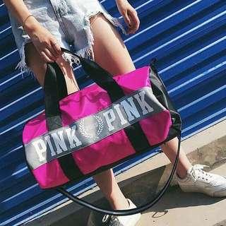 Pink Sports/Travel Bag