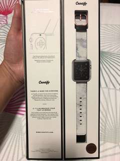 Apple iwatch 38mm Casetify strap