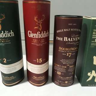 Collection of Single Malts