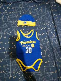 GSW Onesie Set