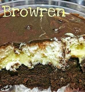 Browren & Browkat (Brownies Coklat) (PO)
