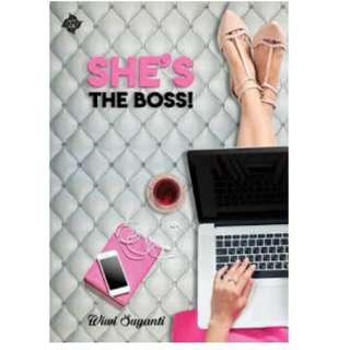 Ebook She's The Boss! - Wiwi Suyanti