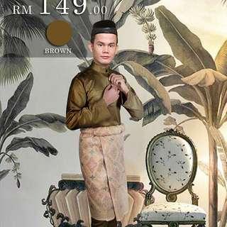 Baju Melayu Slim Fit