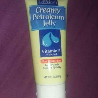 Petroleum jelly tubr