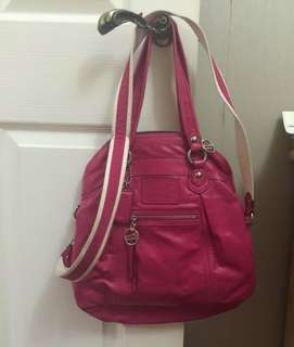 Authetic Coach tote pink
