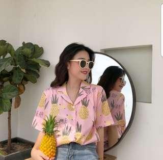 Theon Summer Button Down Shirt