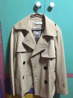 Nude Colored Trench Coat