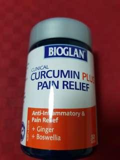 NEW BIOGLAN curcumin plus pain relief