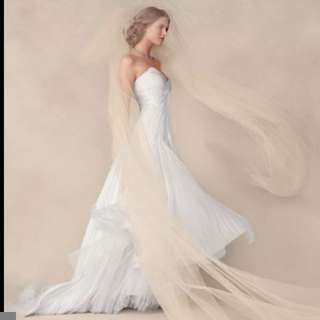 Champagne tulle for custom wedding veils from $50