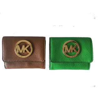 全新正貨真皮 Michael Kors Card Holder Coins Bag 咭片套 散字包 八達通套