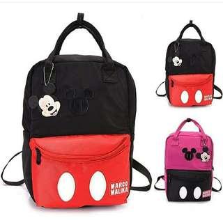 tas backpack mickey polos